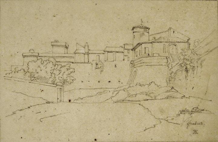 vue de frascati by théodore claude félix caruelle d aligny
