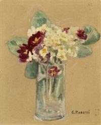 petit bouquet de fleurs dans un vase by georges rasetti