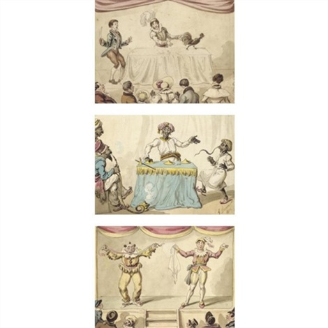 the magic trick 2 others 3 works by george cruikshank