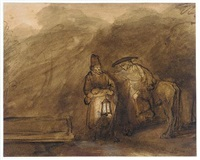 rest on the flight into egypt by barent fabritius