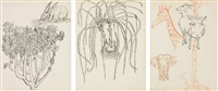 untitled - rabbit, onions, animals (in 3 parts) by merce cunningham