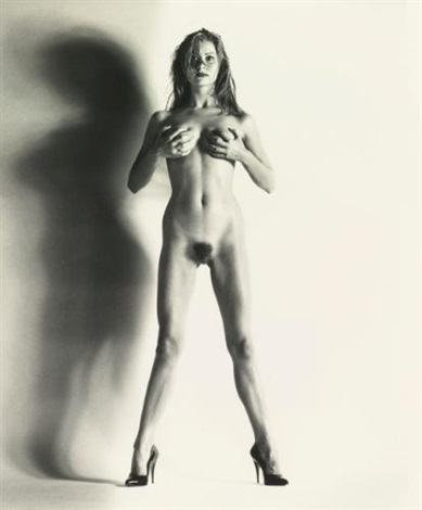 big nude camilla nice by helmut newton