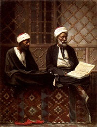 reading the koran by leendert de koningh the younger