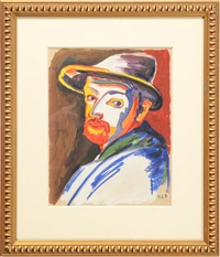 self portrait by peter august böckstiegel