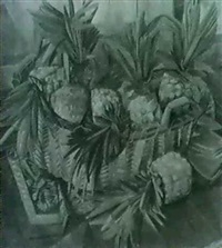 still life with pineapples by clara l. deike