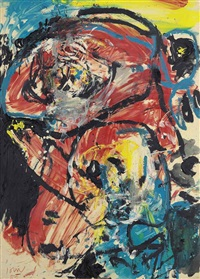 two heads by asger jorn