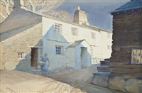bulk how farm, little langdale, lake district by william heaton cooper