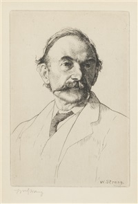 hardy, thomas (1840-1928) by william strang
