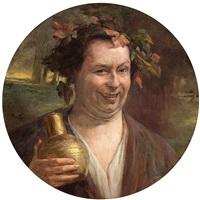 bacchus by auguste (maurice françois giuslain) léveque