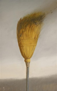 of the east (study for burning broom) by bo bartlett