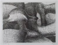 imaginary prisons by henry moore