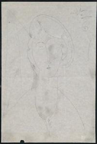 portrait de marie (ritratto di maria) by amedeo modigliani