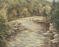 the findhorn by william ellis barrington-browne