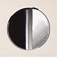 mirror#1 (the mirror series) by roy lichtenstein