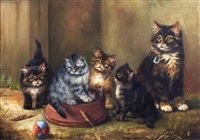 expectant litter by adrienne lester