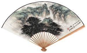 山水 by li xiongcai