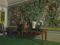 room interior by julius moessel