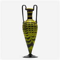 monumental fenicio vase by vetreria fratelli toso