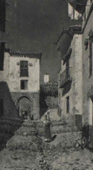 callejuela granadina by ernesto gutiérrez hernández