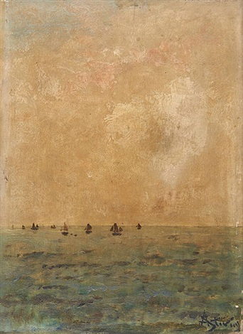 marine by alfred stevens
