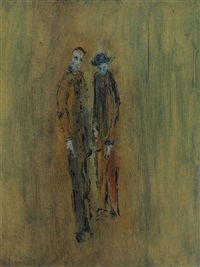 two figures by gerald davis