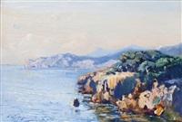 rivages de la petite kabylie by pierre faget-germain