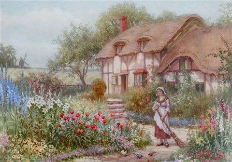 thatched cottage by william affleck