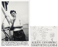 photographs (book w/91 works, quarto, first ed.) by allen ginsberg