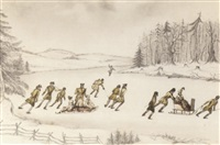 sledging and skating scenes in canada by helen maria campbell