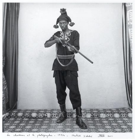 le chasseur et le photographe by malick sidibé