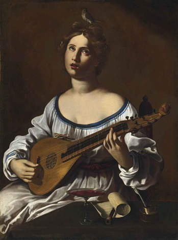 an allegory of music by antiveduto grammatica