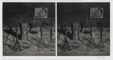 stereoscopic suite portfolio of 6 by william kentridge