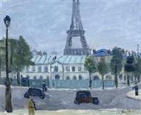 paris, la tour eiffel by alexandre rochat