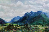 waterton meadows, bright spring by r. fern langemann