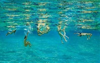 swimmers by maria filopoulou