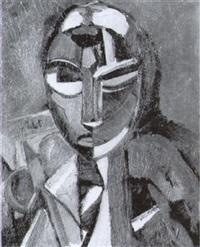 portrait de femme by otto abt