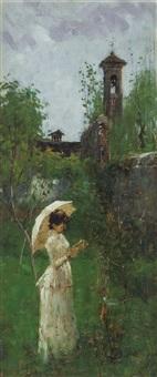 ragazza con l'ombrellino by angelo