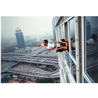 freedegree over 29th story, soho, beijing by li wei
