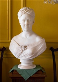 bust of a woman by james henry haseltine