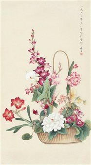 繁花似锦 (flowers) by qu zhen
