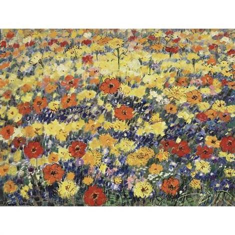 Champs Des Fleurs By Michele Cascella On Artnet