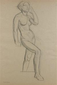 femme (study) by maurice esmein