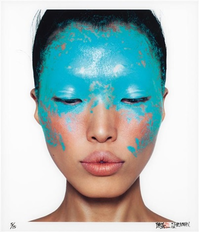 bleu 1 from beauty book by chen man