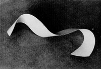 untitled (cut paper abstraction) by fritz schleifer