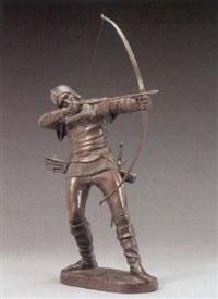 a medieval archer by pierre nicolas turgenov