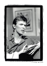 david bowie by michel ginies