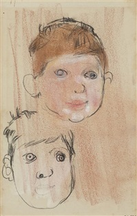 boy's head by joan kathleen harding eardley