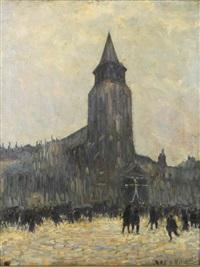 eglise by anatole eugène hillairet