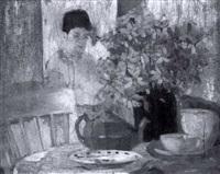 interior kitchen scene by helen (blum) abrahams