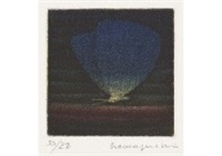blue butterfly (3 works) by yozo hamaguchi
